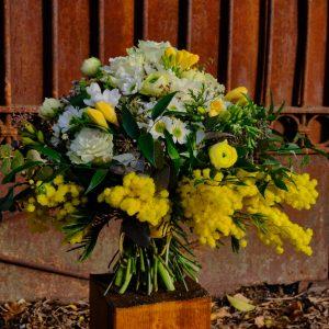 Bouquet giallo maxi